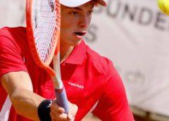Варненецът Пьотр Нестеров от Черно море Елит стигна драматично до финал на европейското лично първенство по тенис в Швейцария