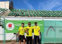 Мъжкият отбор на Черно море Елит спечели отборната шампионска титла на България по тенис